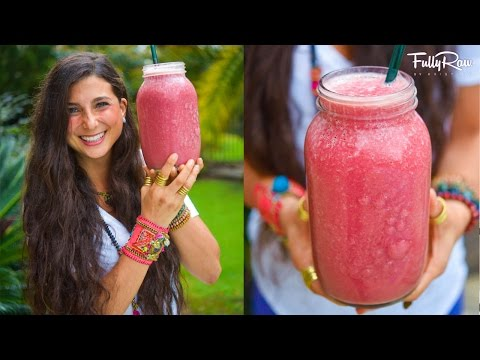 Raspberry Mango Protein Smoothie for Weight-Loss!