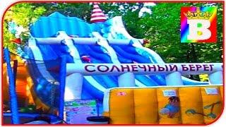 Loc de joaca pentru copii cu trambuline testat la Bogdan`s Show