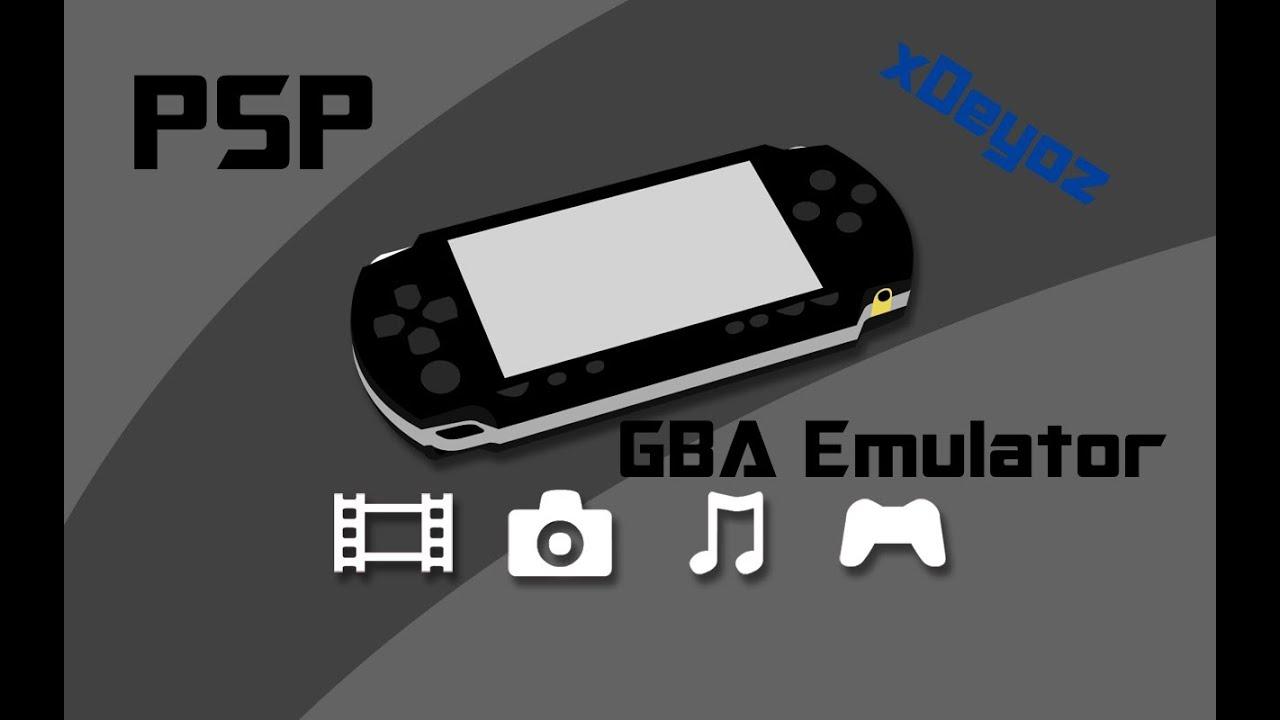 emulateur gba pour psp 6.60