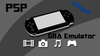 How to put GBA Emulator + PSP Roms on your PSP - Tutorial [Deutsch] [HD]