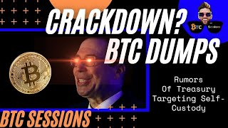 Bitcoin Price Dumps After Rumors of GOVERNMENT CRACKDOWN!