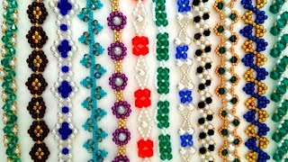 Beading jewelry patterns. Free beading projects for DIY jewelry