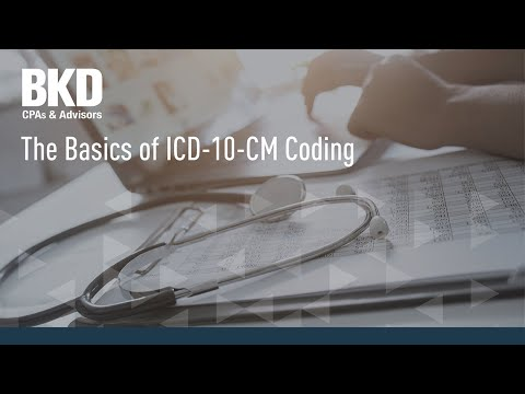 The Basics of ICD-10 Coding