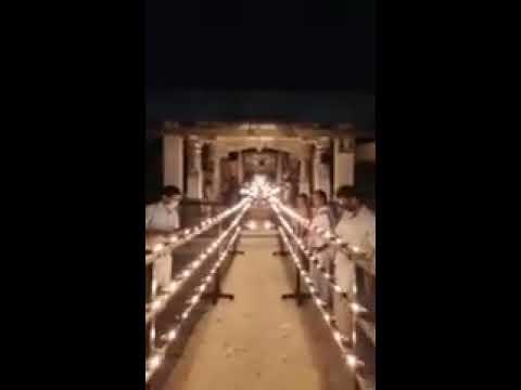 Horanadu Sri Annapoorneshwari With Golden Kavacha. Wonderful To See The Mahamangalarathi. Jai Mata