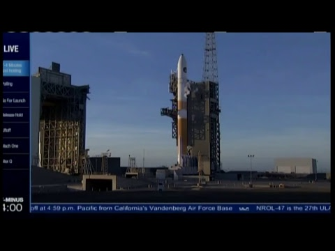 ***WATCH LIVE*** ULA Delta IV NROL-47 Rocket Launch