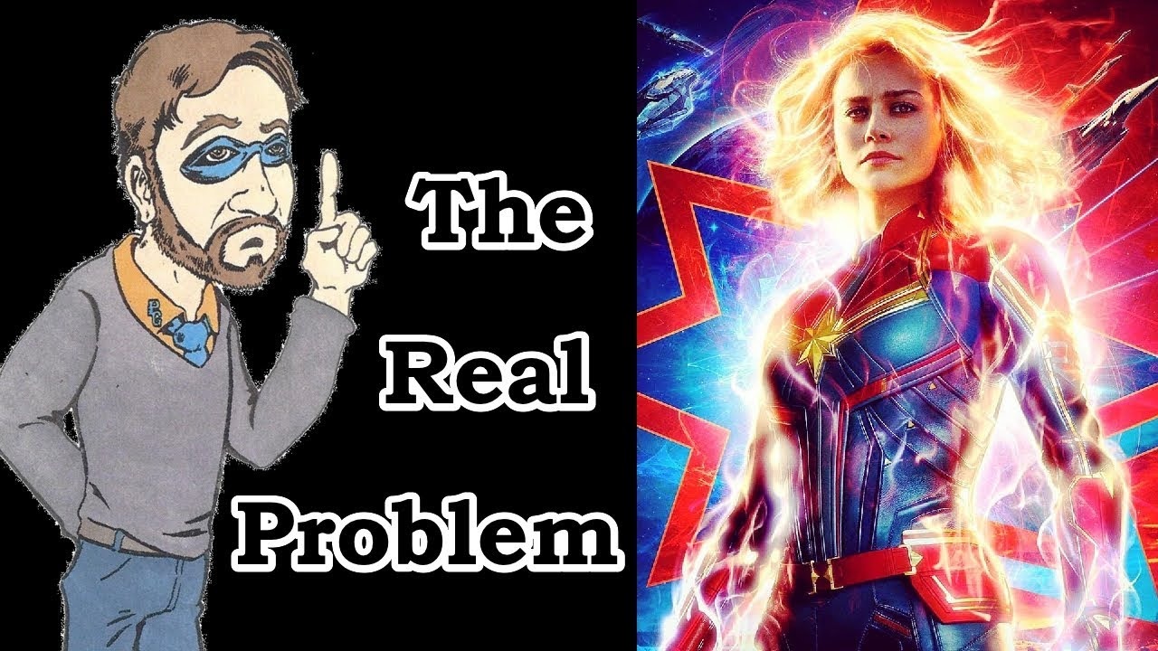 the real problem with captain marvel - youtube