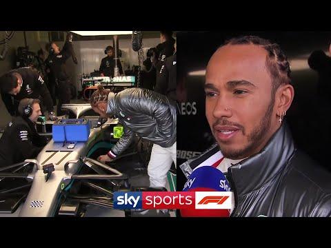 Lewis Hamilton & Valtteri Bottas react to the new Mercedes W11!