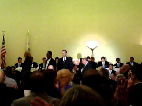 National Football Foundation Los Angeles Chapter Award Presentation March 2011
