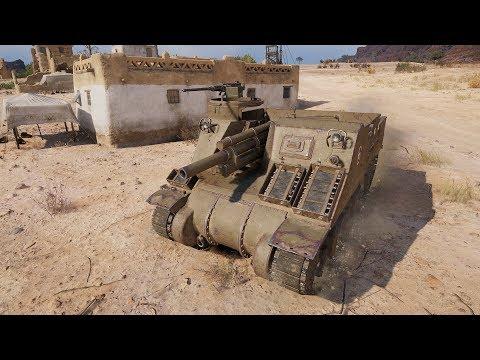 World of Tanks M7 Priest 771 DMG - El Halluf