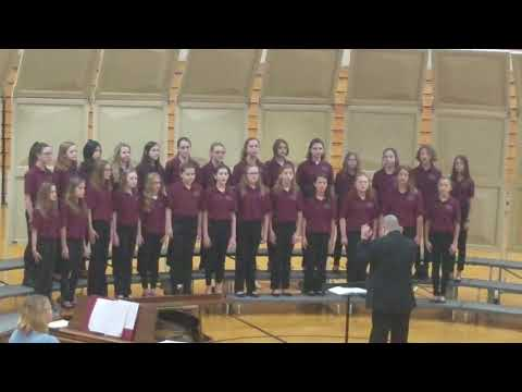 Hanover Central Middle School 6th Grade Choir - 2019 ISSMA Competition - Song 1