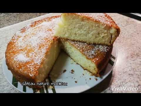 recette-simple-gâteau-nature-moelleux