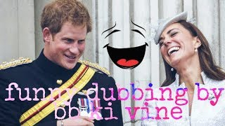 bb ki vine funny dubbing | royal wedding of prince harry and meghan markle