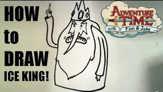 How to Draw the Ice king from Adventure Time - Easy Things to Draw