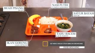 Video Ajar PKP Gizi Kesehatan Food Weighing FK-KMK UGM