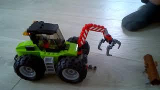LEGO City, klocki Traktor leśny