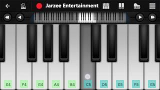Baate Ye Kabhi Na(Arijit Singh) - Easy Mobile Perfect Piano Tutorial