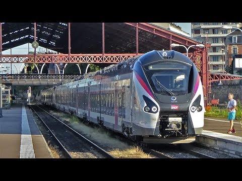 Trains De Voyageurs Sur La Ligne 4 SNCF Paris-Mulhouse En Gare De Troyes Et Ses Environs