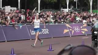 Олимпиада 2012 Ходьба 20 км. Женщины. Победа России!