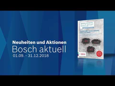 Bosch Aktuell: Die Neuheiten & Aktionen Im September
