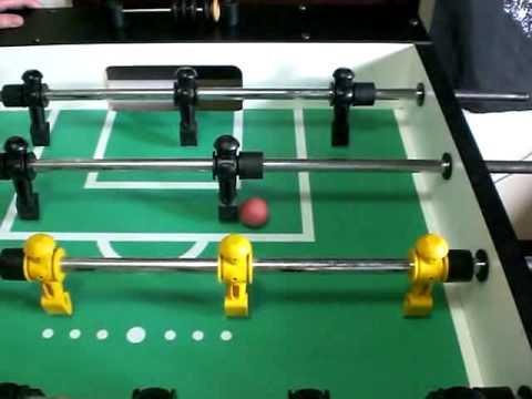 Foosball Man Goalie Wall Tap Shot YouTube - Single goalie foosball table