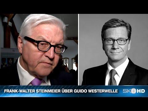 FRANK-WALTER STEINMEIER ÜBER GUIDO WESTERWELLE