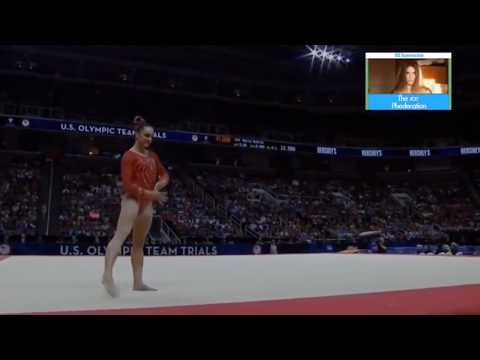 Maggie Nichols (2015) // Kyla Ross (2018) Gymnastics Floor Music Audio Swap