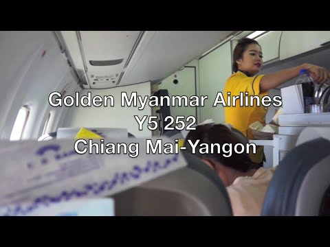 Golden Myanmar Airlines ATR 72-600 Flight Report: Y5 252 Chiang Mai to Yangon