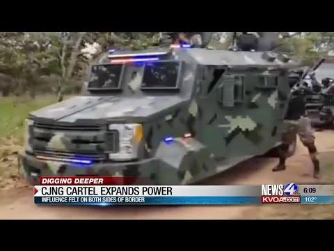 CJNG Cartel Expands Power