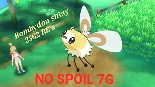 bombydou chromatique shiny cutiefly 2362 re s ser route 2