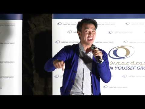 Wonho Chung at Omeir Bin Youssef Staff Party 2014