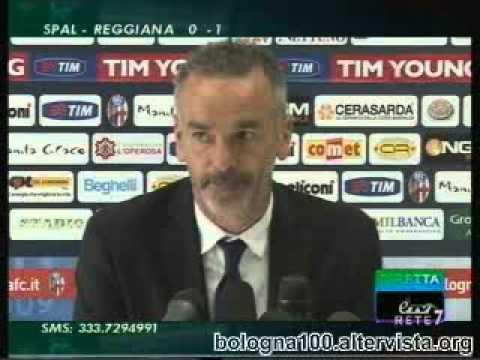 Bologna FC 1909 – Palermo 1-3 01/04/2012, Pioli in sala stampa