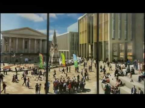 Birmingham: Campaigners tries to save the former Central Library - ft.John Grindrod (Coverage 1)
