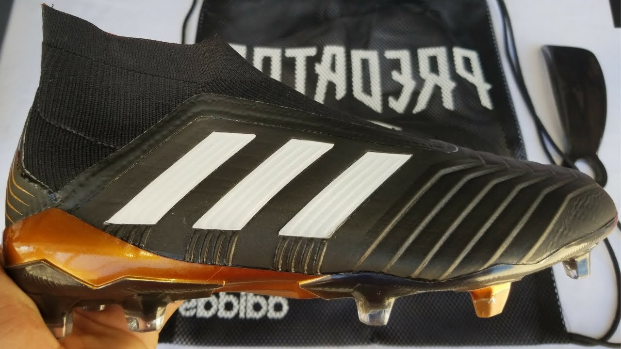 223db9e24 Unboxing  Adidas Predator 18+ FG Soccer Cleat + Soccer Boots - YouTube