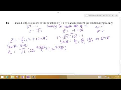 Solving an equation with DeMoivre's Theorem