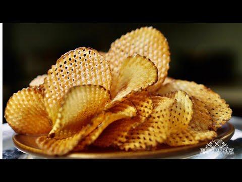 Gaufrette Potatoes – Bruno Albouze – THE REAL DEAL