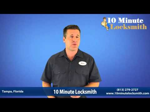 For car, home, business services call 10 Minute Locksmith Tampa