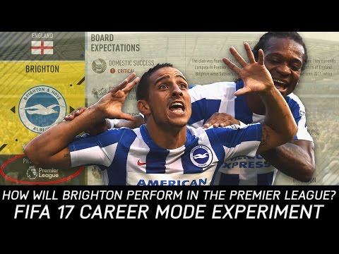 How Will Brighton Perform in the Premier League Next Season? - FIFA 17 Experiment