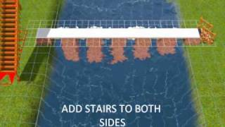 Sims 3:how To Build A Bridge Over A Pond