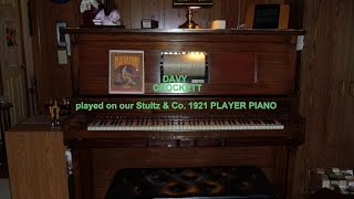 DAVY CROCKETT - PIANO ROLL - 9138