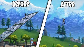 *NEW* HOW TO MAKE INVISIBLE RAMPS AND FLOORS | FORTNITE BR GLITCH