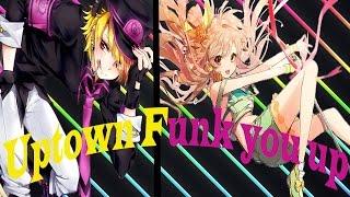 Nightcore Uptown Funk you up (switching vocals)