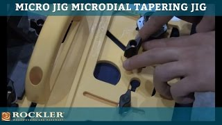 Micro Jig Microdial Tapering Jig At Awfs 2013