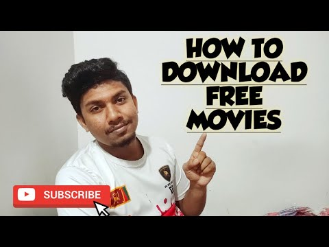 HOW TO DOWNLOAD FREE MOVIES