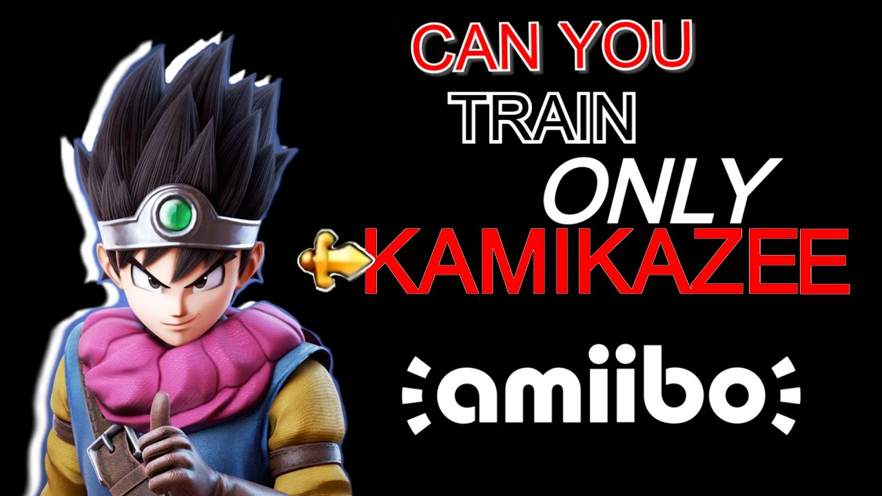 CAN YOU TRAIN THE HERO AMIIBO TO ONLY KAMIKAZEE [SPECIAL] | Reality