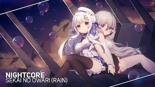 ❖Nightcore❖「RAIN」Sekai no Owari (Cover By Lefty Hand Cream)