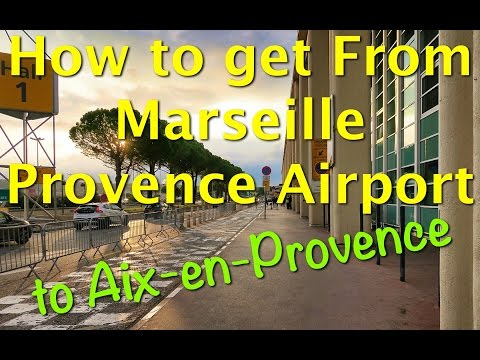 The quickest, cheapest, and easiest way to get from Marseille Provence Airport to Aix-en-Provence