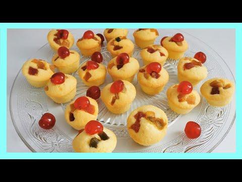 ---🍒🍒-cake-aux-fruits-confits-😋-----recette-facile-et-rapide
