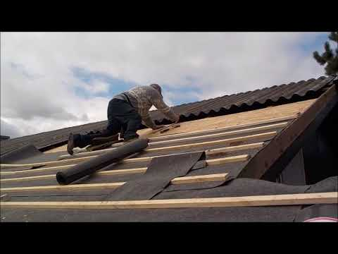 How to install a new tiled roof on your house