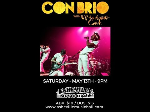 Con Brio Live! @ Asheville Music Hall 5-13-2017