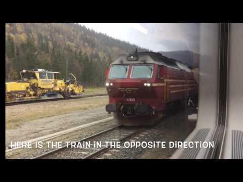 Train Ride (Nordland Railway) Bodö - Trondheim 05.10.16